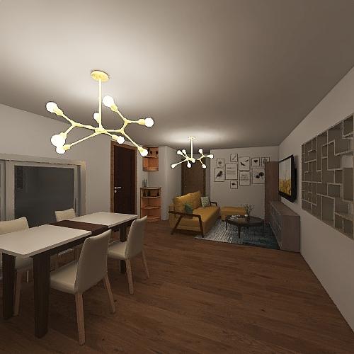 v2_Mi casa version1 Interior Design Render