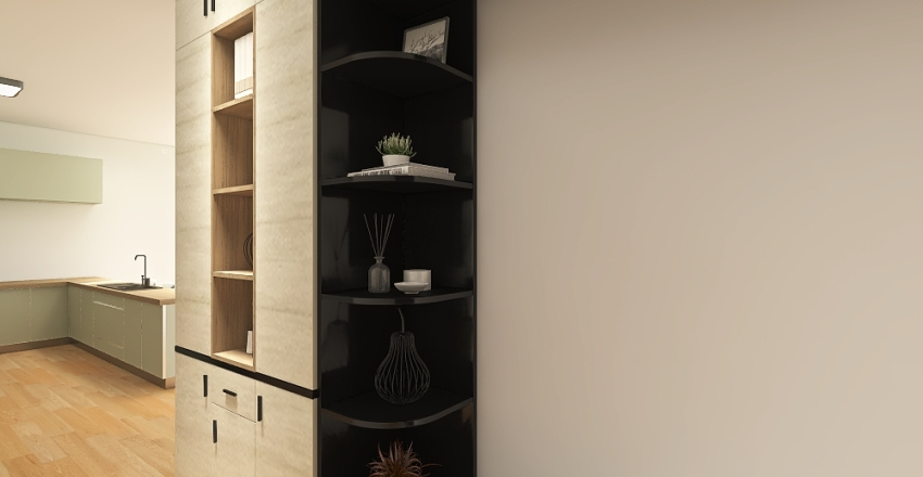 Bungalov Interior Design Render