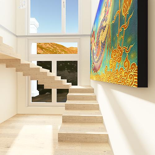 86052bw first Interior Design Render