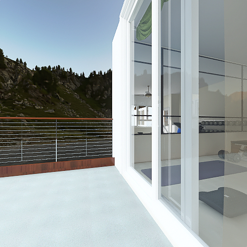 86052bw  Interior Design Render