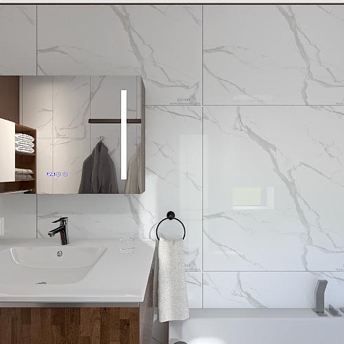 Ванна Interior Design Render