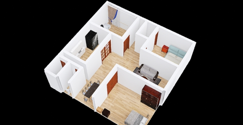 ODESTE.FLOORPLAN Interior Design Render