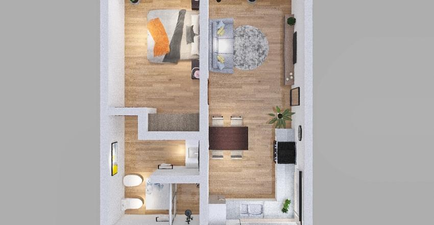 depto Interior Design Render