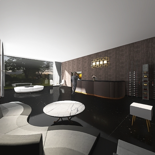 lobby Interior Design Render