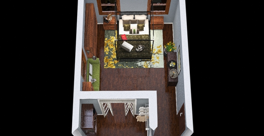 AMF Adult Bedroom - This one. Interior Design Render