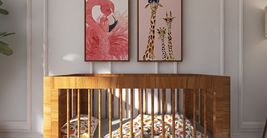 Nursery Interior Design Render