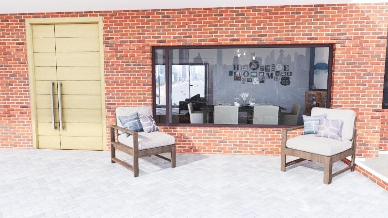 v2_house design Interior Design Render