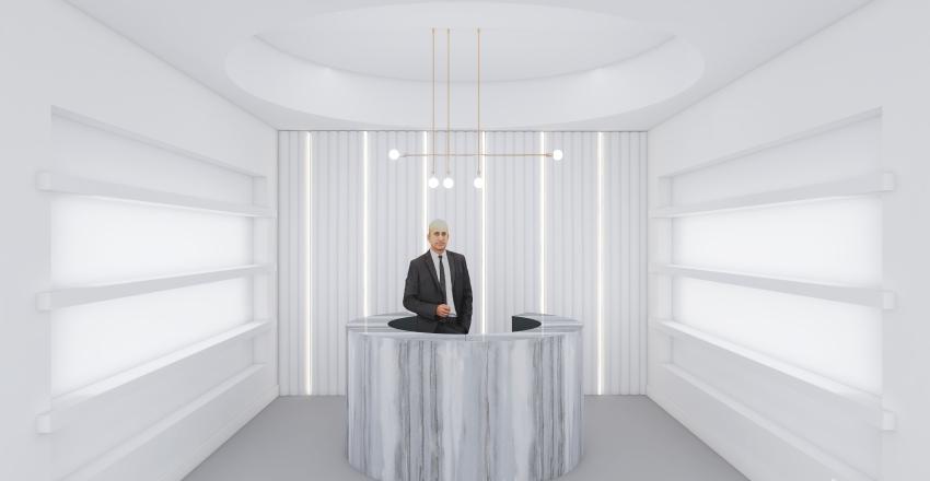 Perfume Pop Up  Interior Design Render
