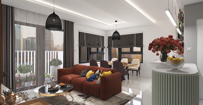 urban hill Interior Design Render
