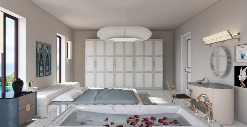 BALI Bedroom Interior Design Render