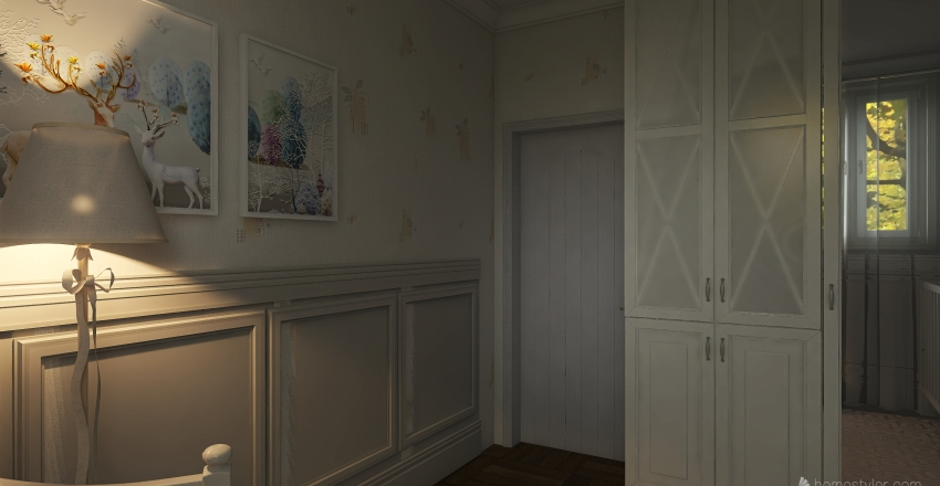 Delicado Interior Design Render