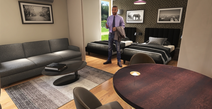 The Residence by eValley Studio de 20m² Interior Design Render
