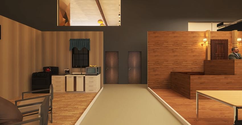v2_Annapolis Studio B Interior Design Render