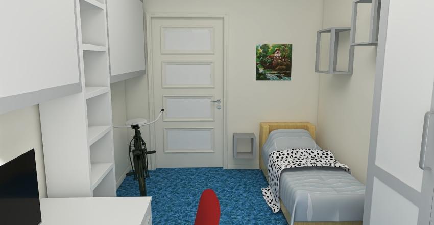 Pokój Marka draft Interior Design Render