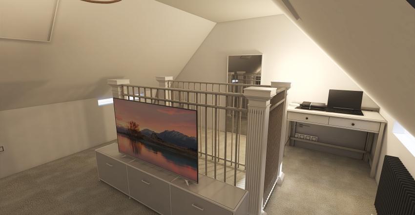 Attic 1 Interior Design Render