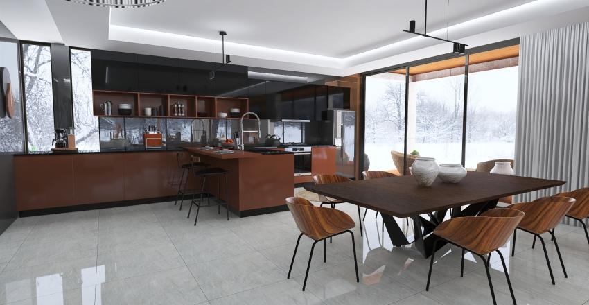 #HSDA2020Residencial. Casa contemporánea Interior Design Render