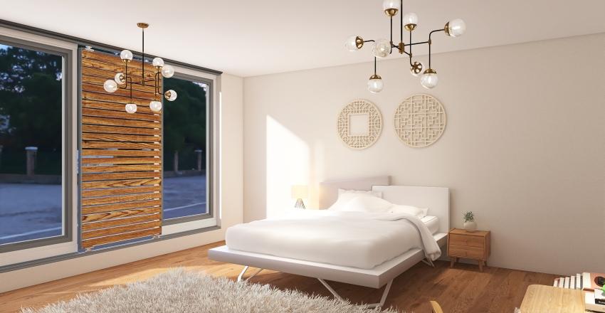 Test bedroom Interior Design Render