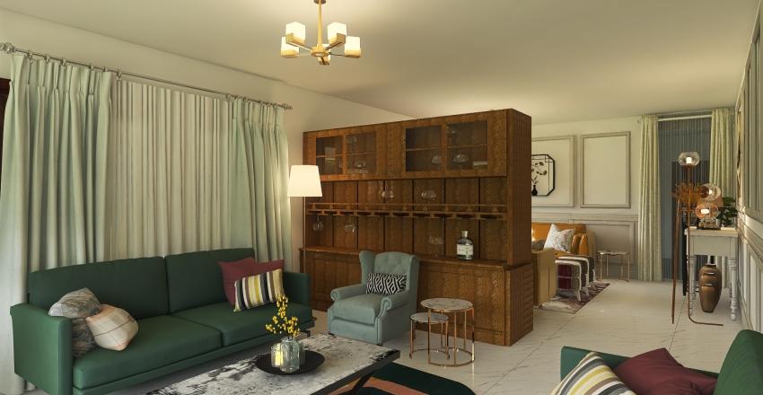 Living Room Ibu Interior Design Render