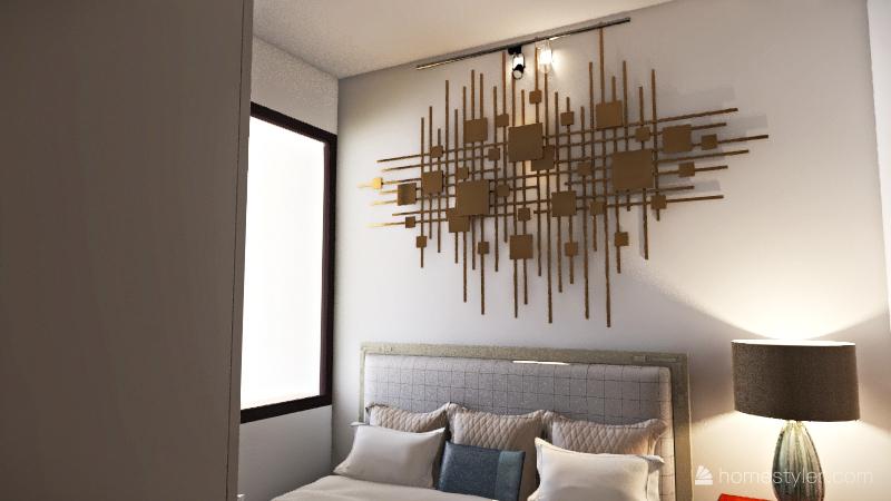 kamar tidur  Interior Design Render