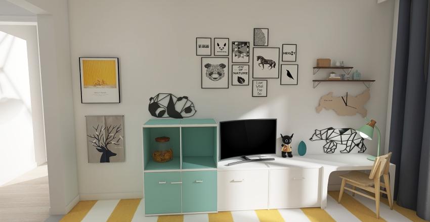 Robert's home Interior Design Render