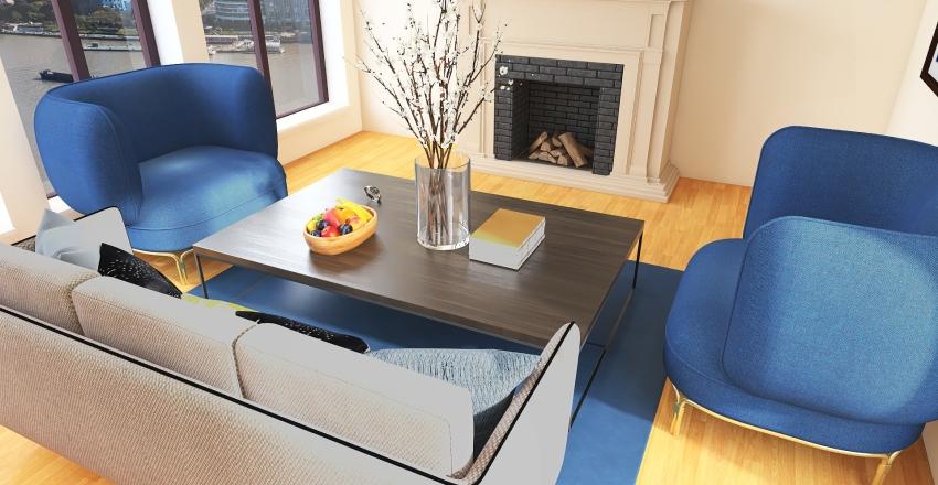 Nice feel living room Interior Design Render