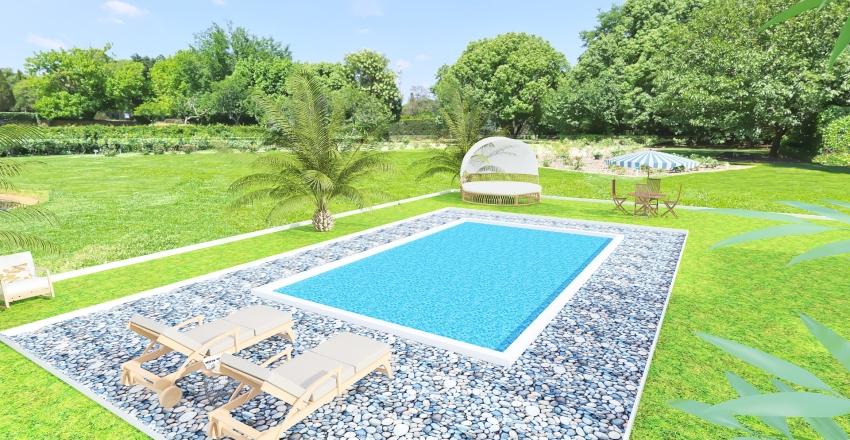 Via Astino 27 Bergamo completa con piscina Interior Design Render