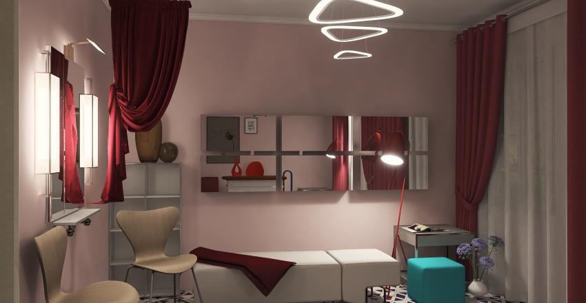 v2_Eyelash extensions salon (Салон наращивания ресниц) Interior Design Render