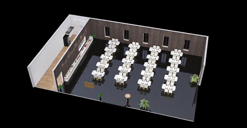 Dinning Room1 Interior Design Render