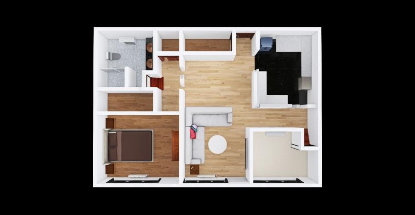 v2_condo Interior Design Render