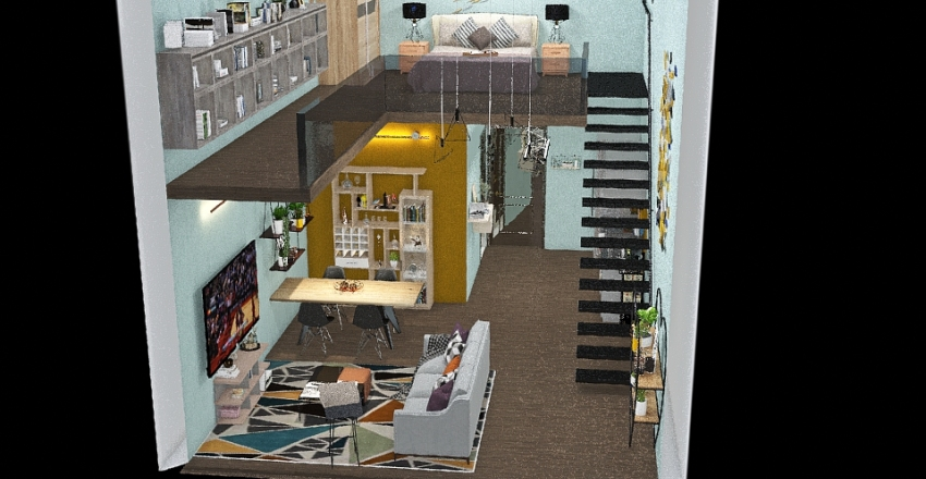 STUDIO Interior Design Render