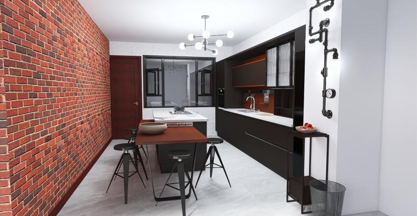 Remodelación cocina Interior Design Render