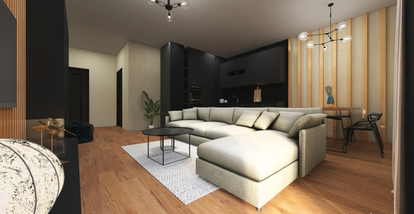 apartment_vlarska Interior Design Render