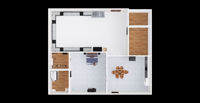 "Ashton""s House 1 Interior Design Render"