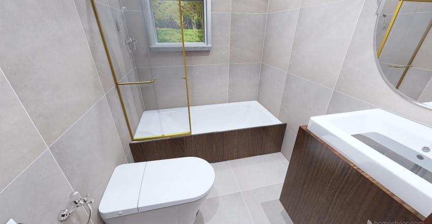Penthouse 220 m Interior Design Render