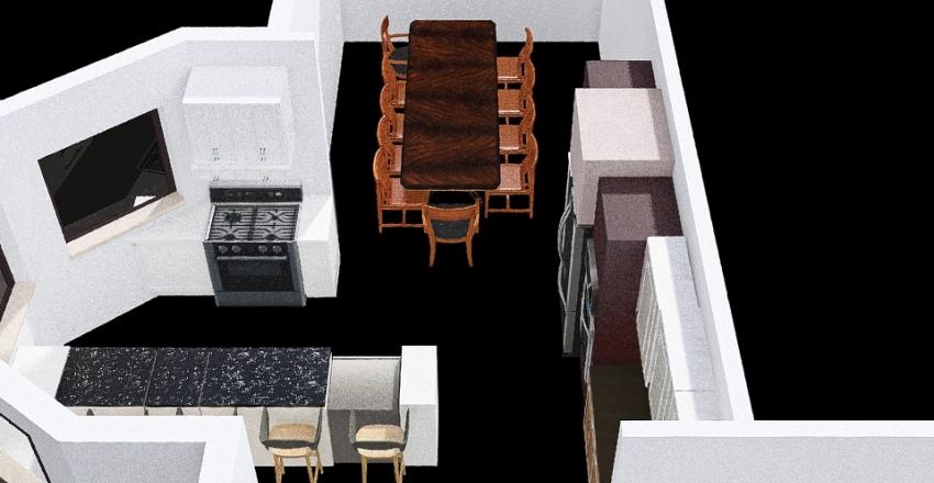 Hamm house kitchen remodel Alt 1 Interior Design Render