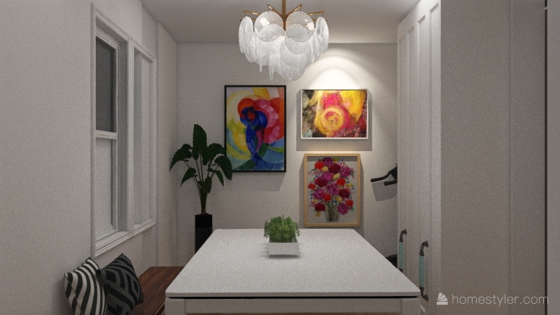 Greatroom Interior Design Render