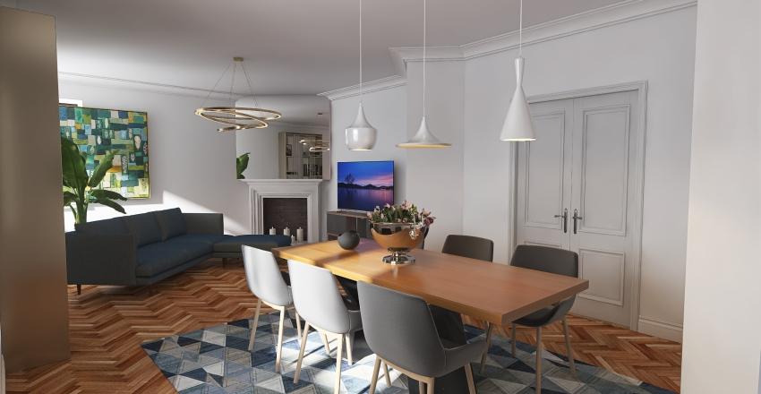 alloggio via Govone Interior Design Render