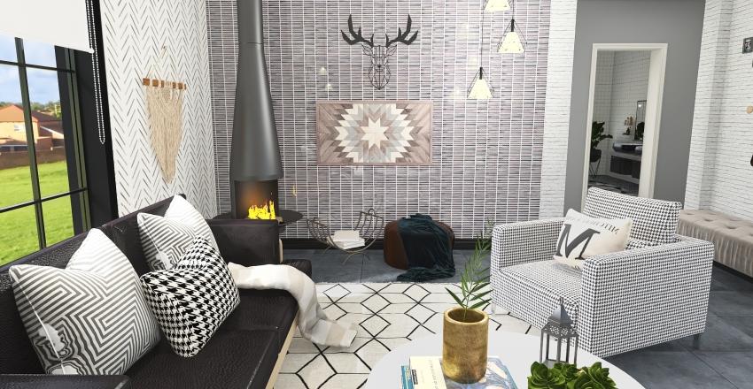 test design nr 2. Interior Design Render