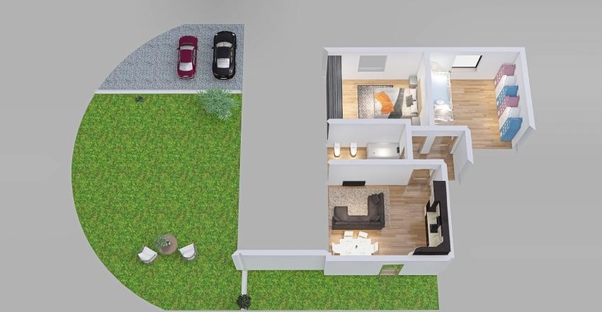 MArr. nuova costruzione Interior Design Render