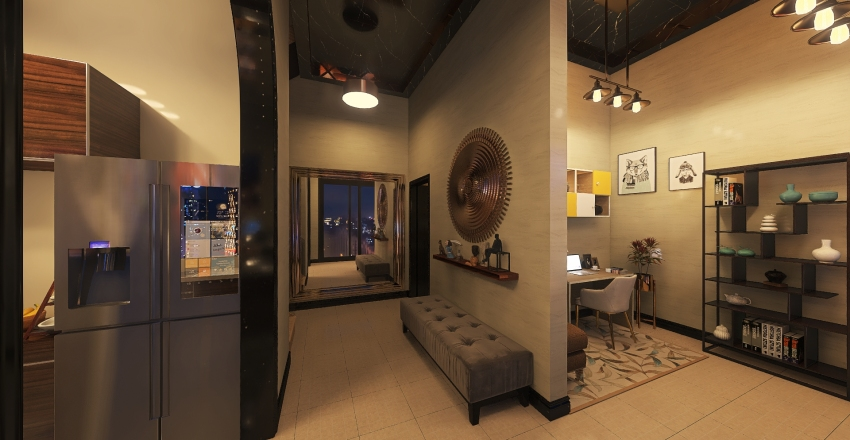 Studio II Interior Design Render