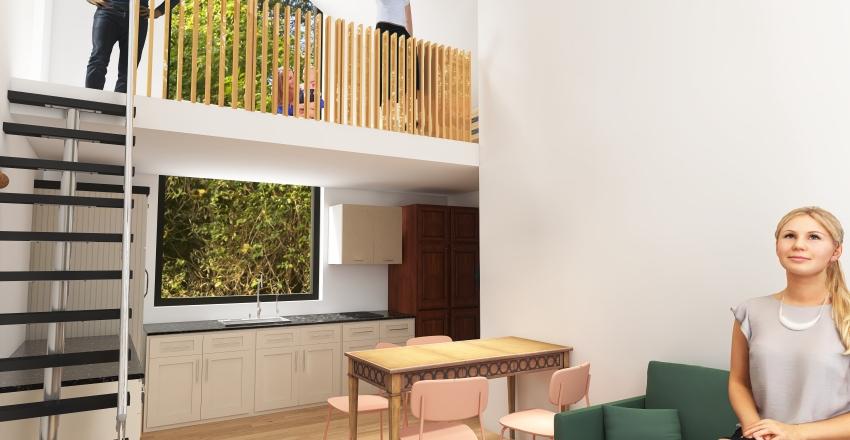 Cabana mica belis Interior Design Render