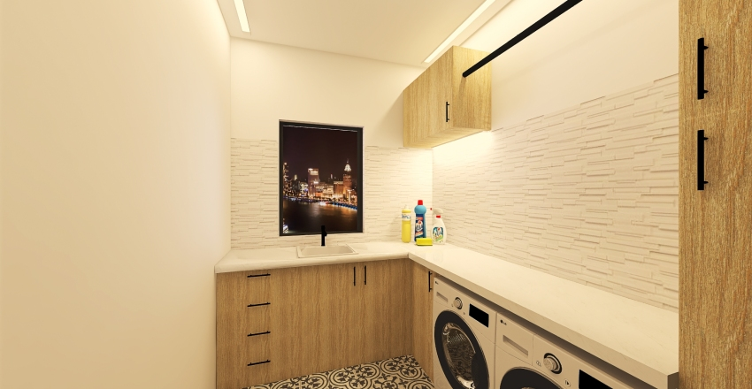 #HSDA2020Residential Young family's apartment Interior Design Render