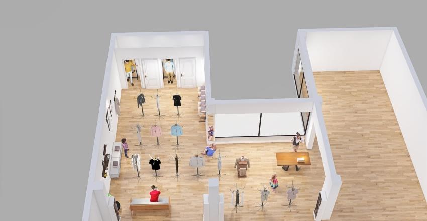 Joffre Andrango Interior Design Render