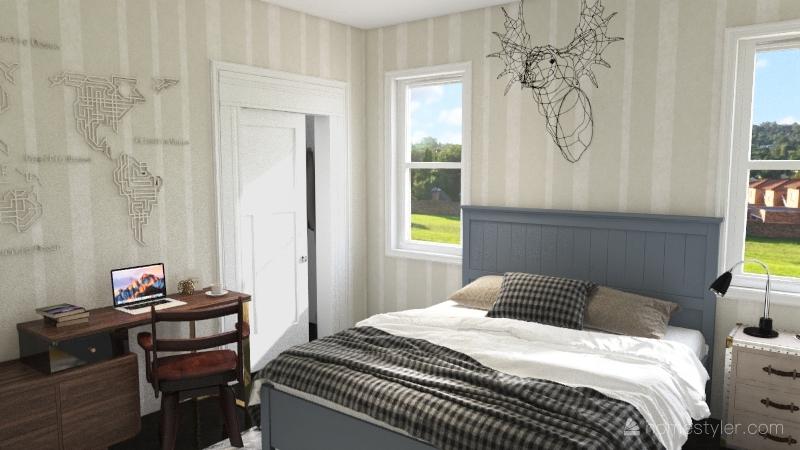 3321 House Interior Design Render