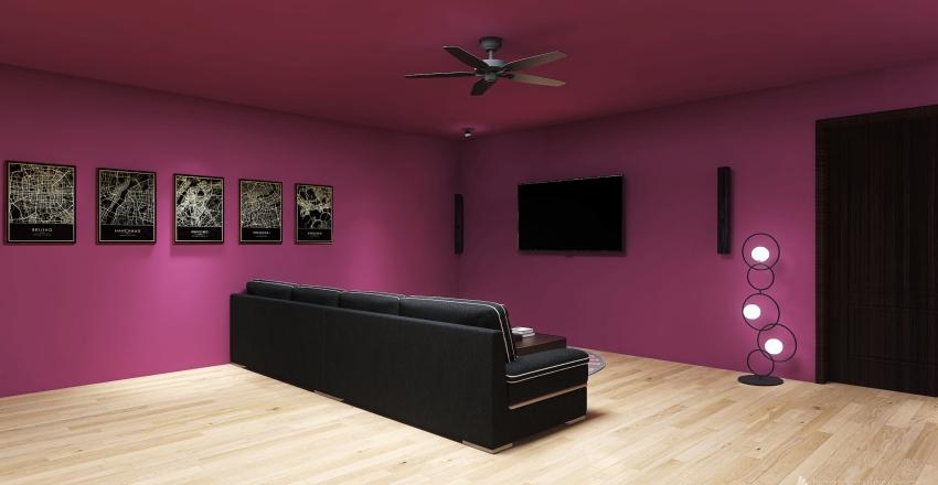 Gamer room Interior Design Render