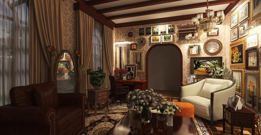 The Maximalism Interior Design Render