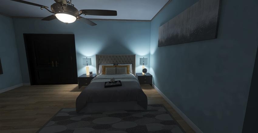 Copy of Finale (Thirn's Bedroom Floor Plan) Public)) Interior Design Render