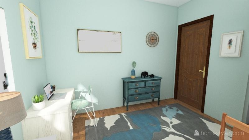 FAHD My Bedroom Floor Plan Interior Design Render