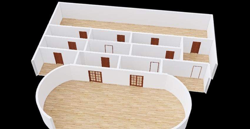 motel Interior Design Render