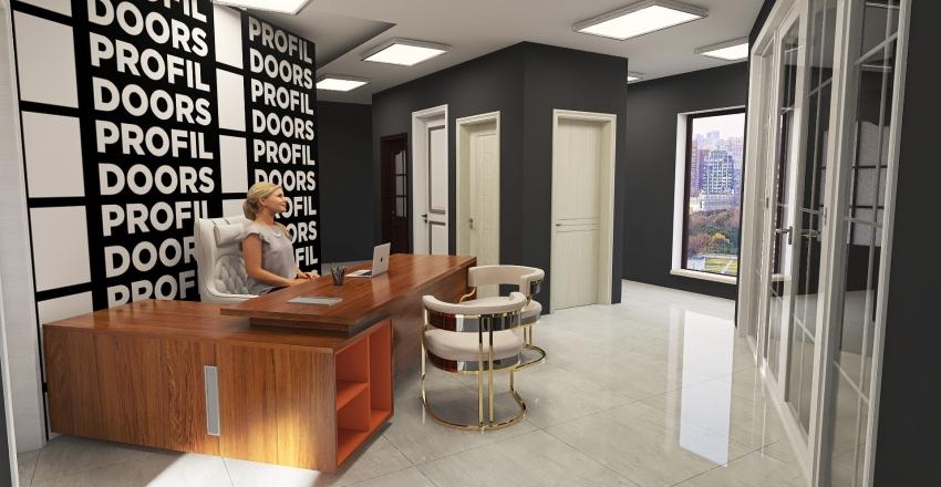 Copy of офис Interior Design Render